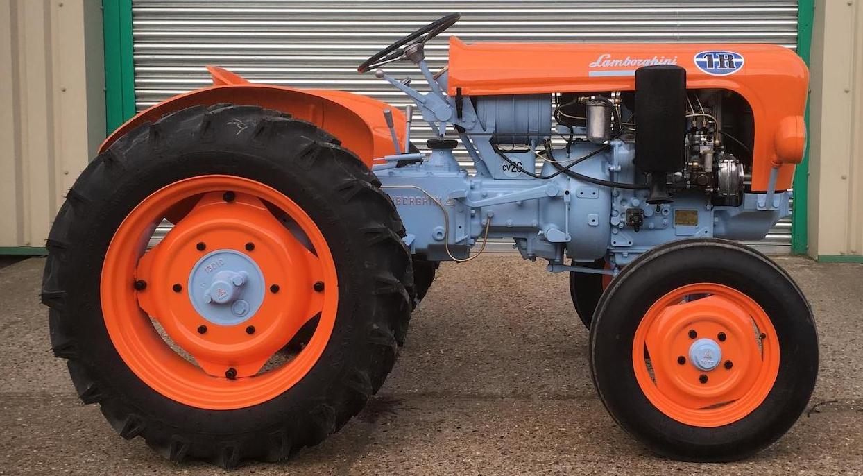 Lamborghini 1R farm vineyard tractor