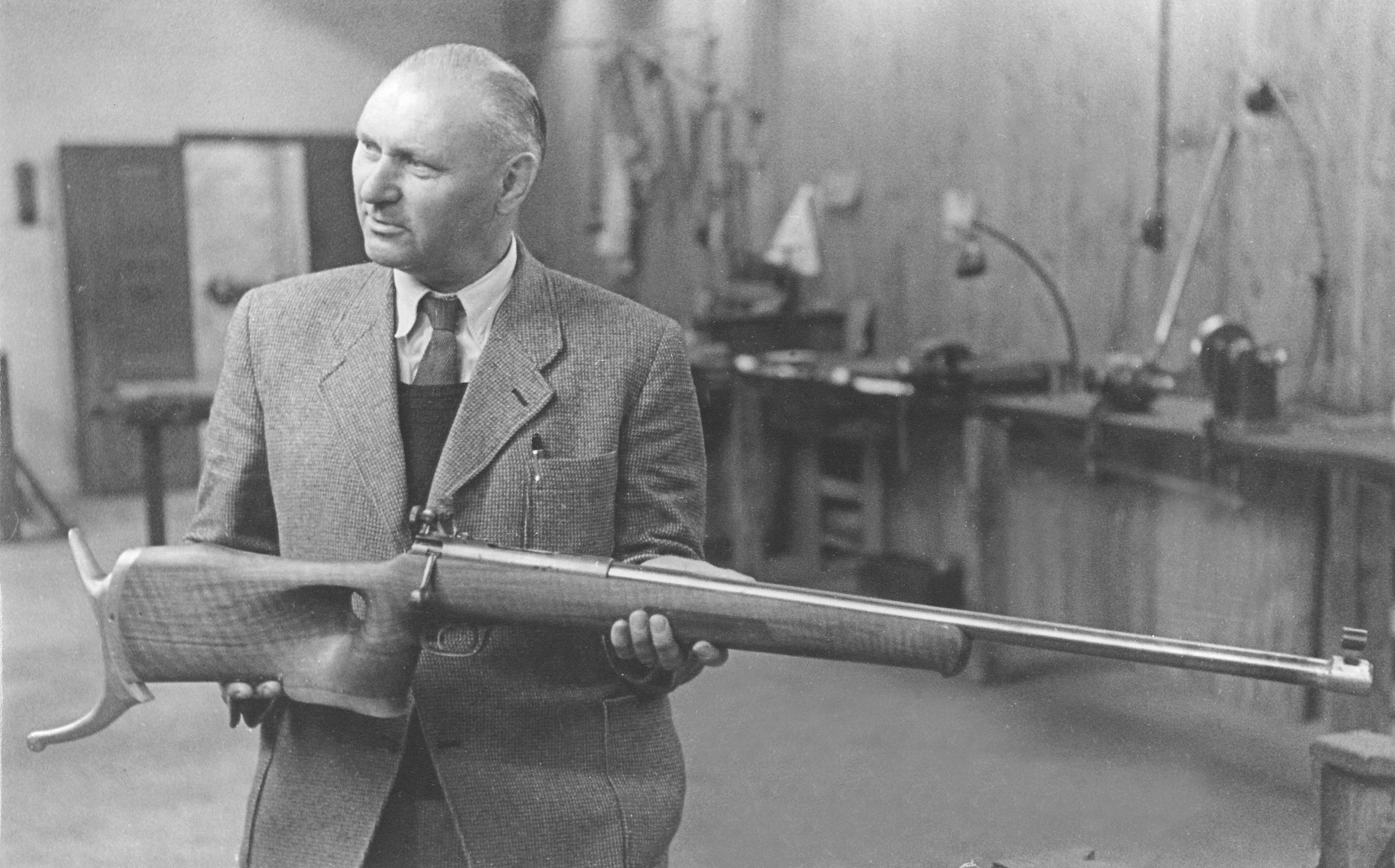 Neils Larsen Schultz & Larsen Olympic target rifle