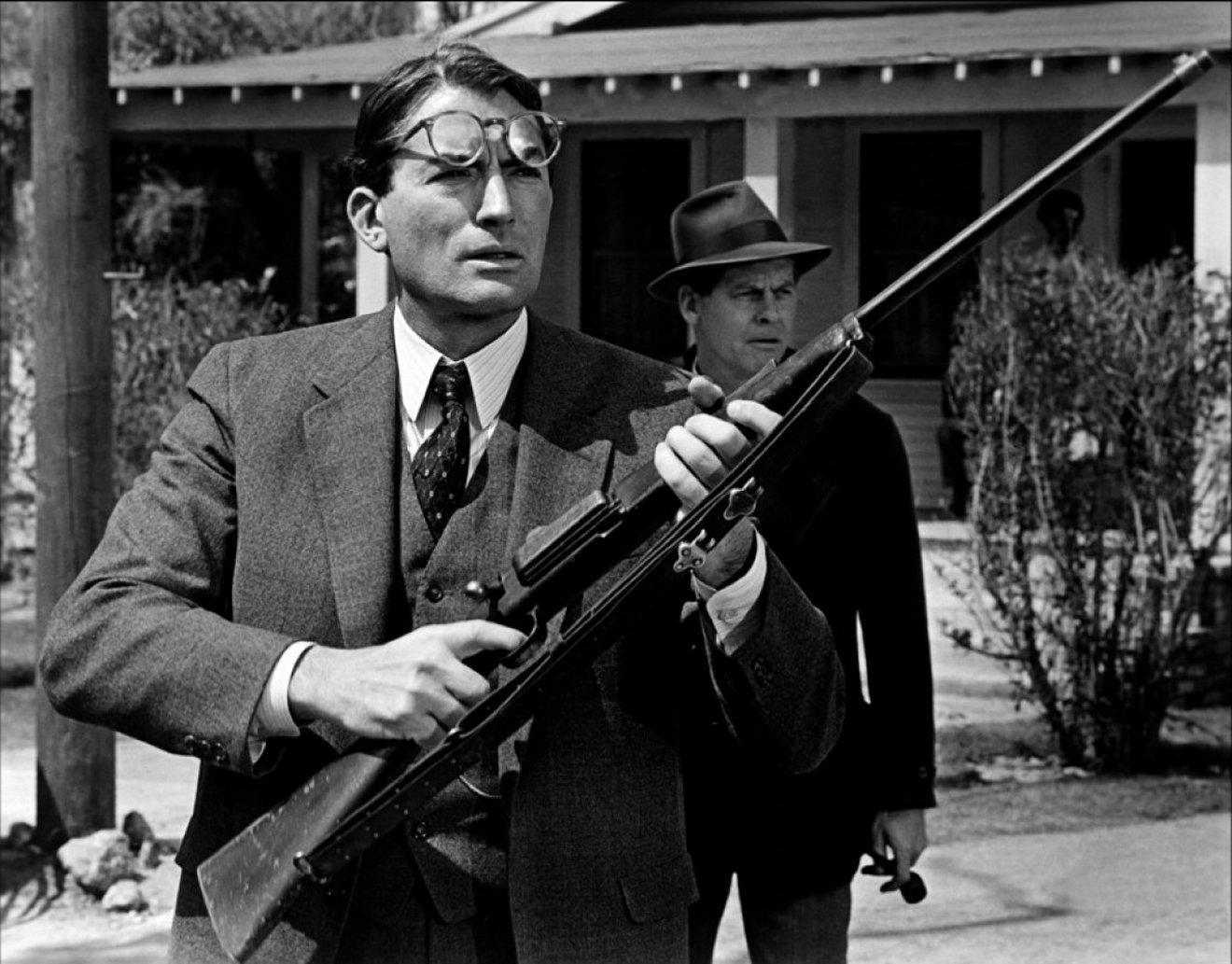 "Atticus Finch Krag rifle ""To Kill a Mockingbird"""
