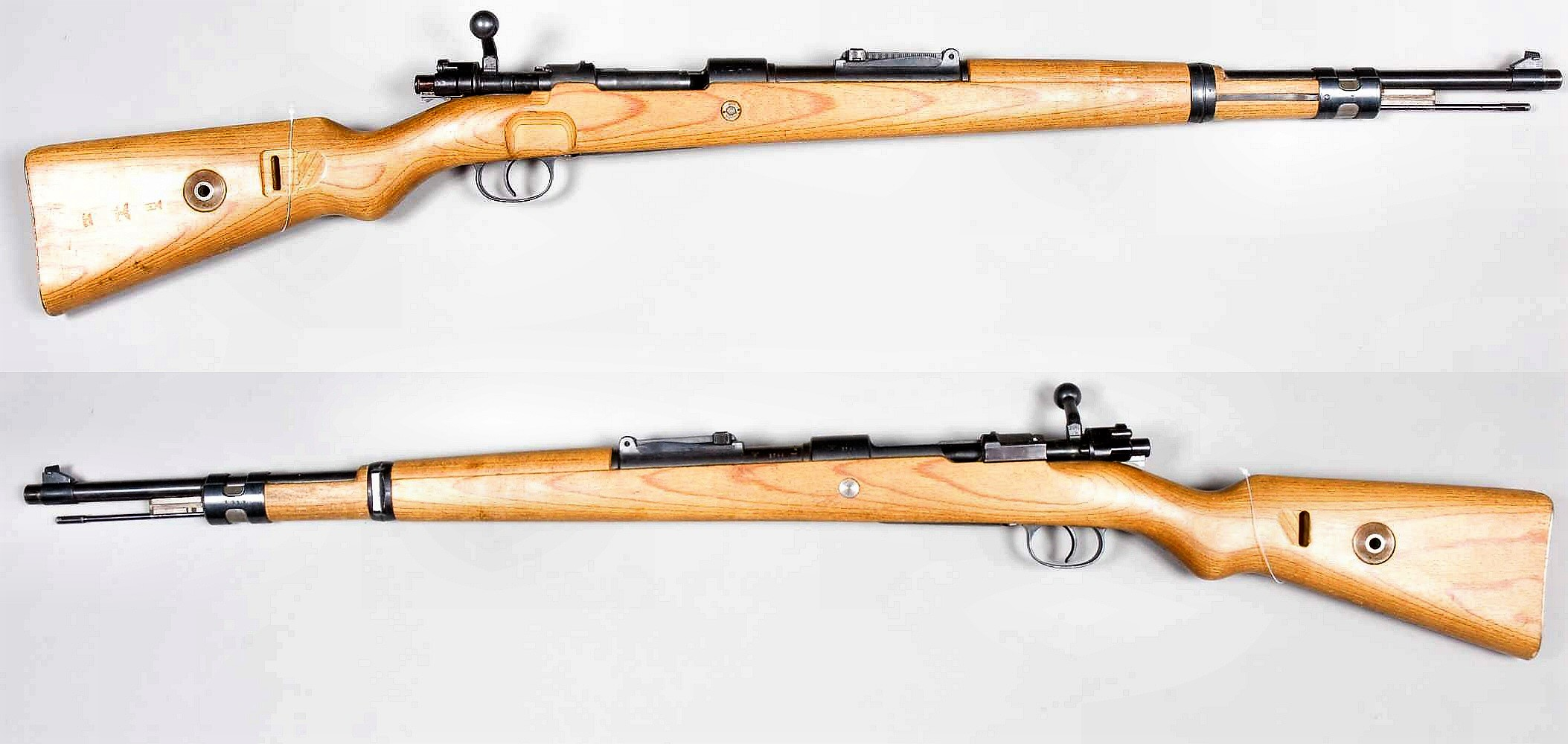 German Mauser 98k rifle