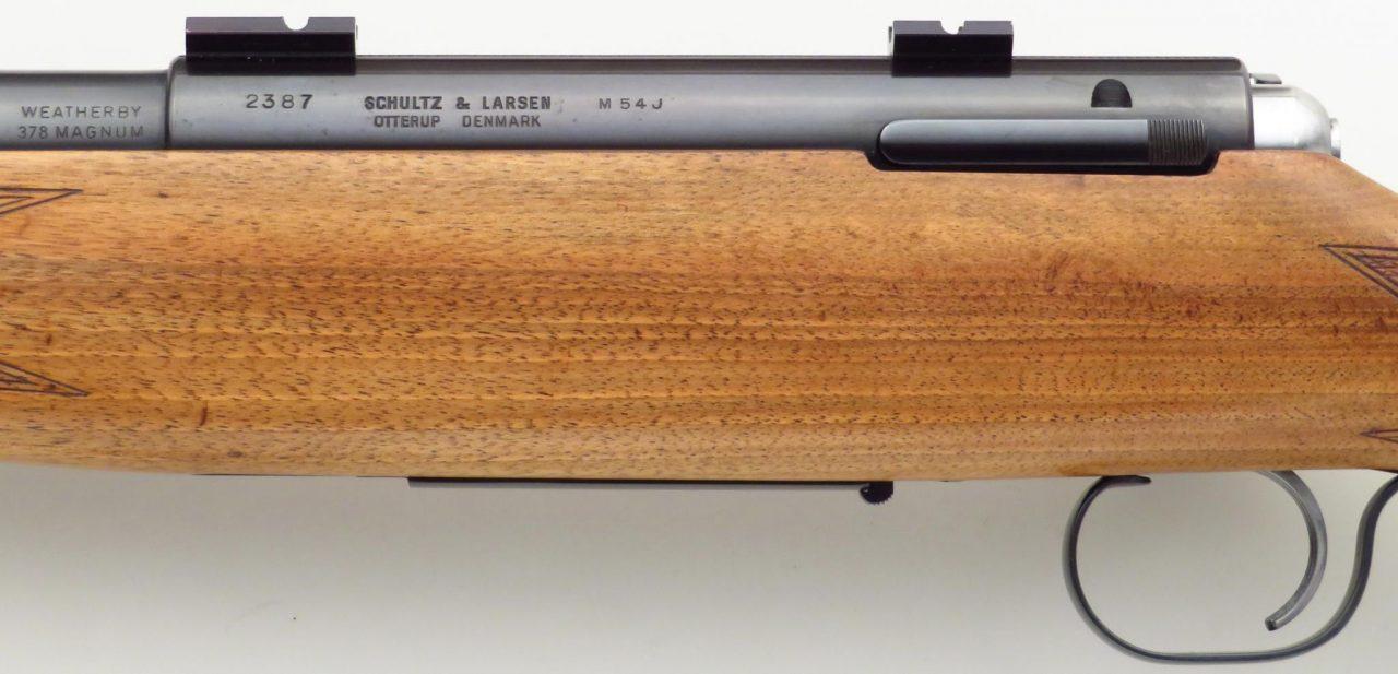 Schultz & Larsen M54 378 Weatherby Magnum