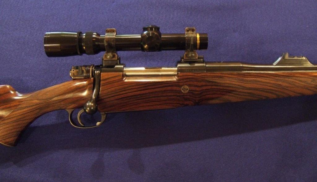 Custom Mauser M98 358 Norma Magnum rifle
