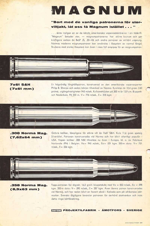 Norma cartridges
