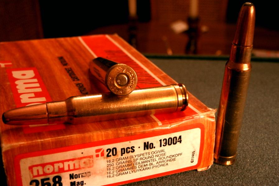 358 Norma Magnum factory ammunition