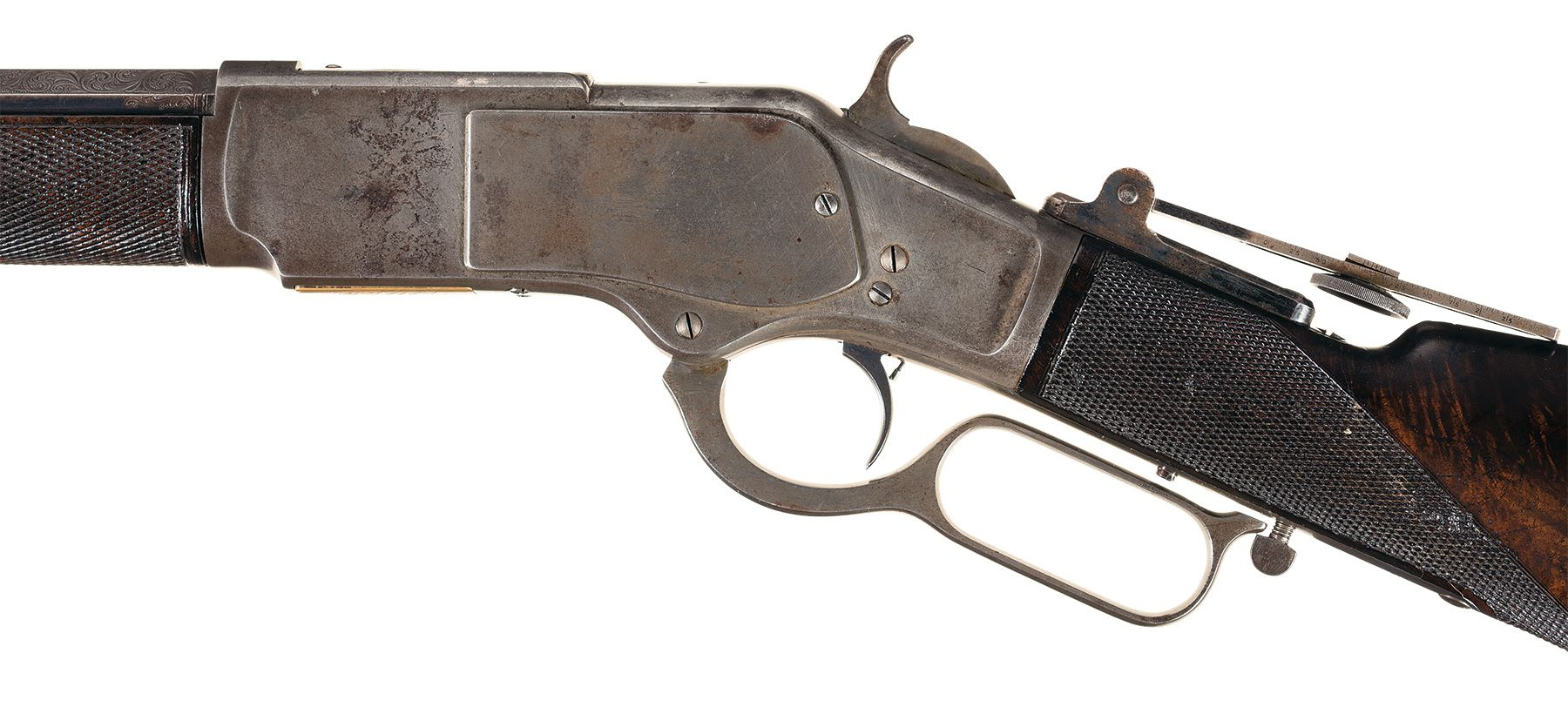 """Winchester """"One of One Hundred"""" M1873 rifle"""