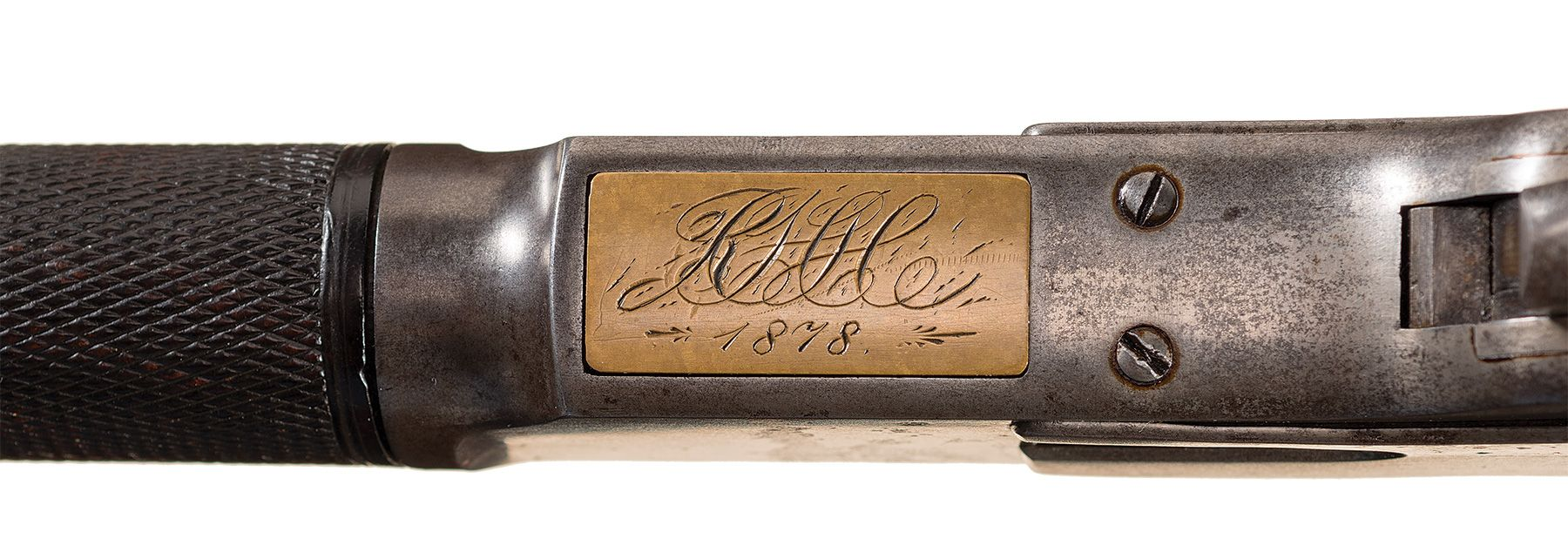"Robert Hopewell Hepburn Winchester ""One of One Hundred"" M1873 rifle"
