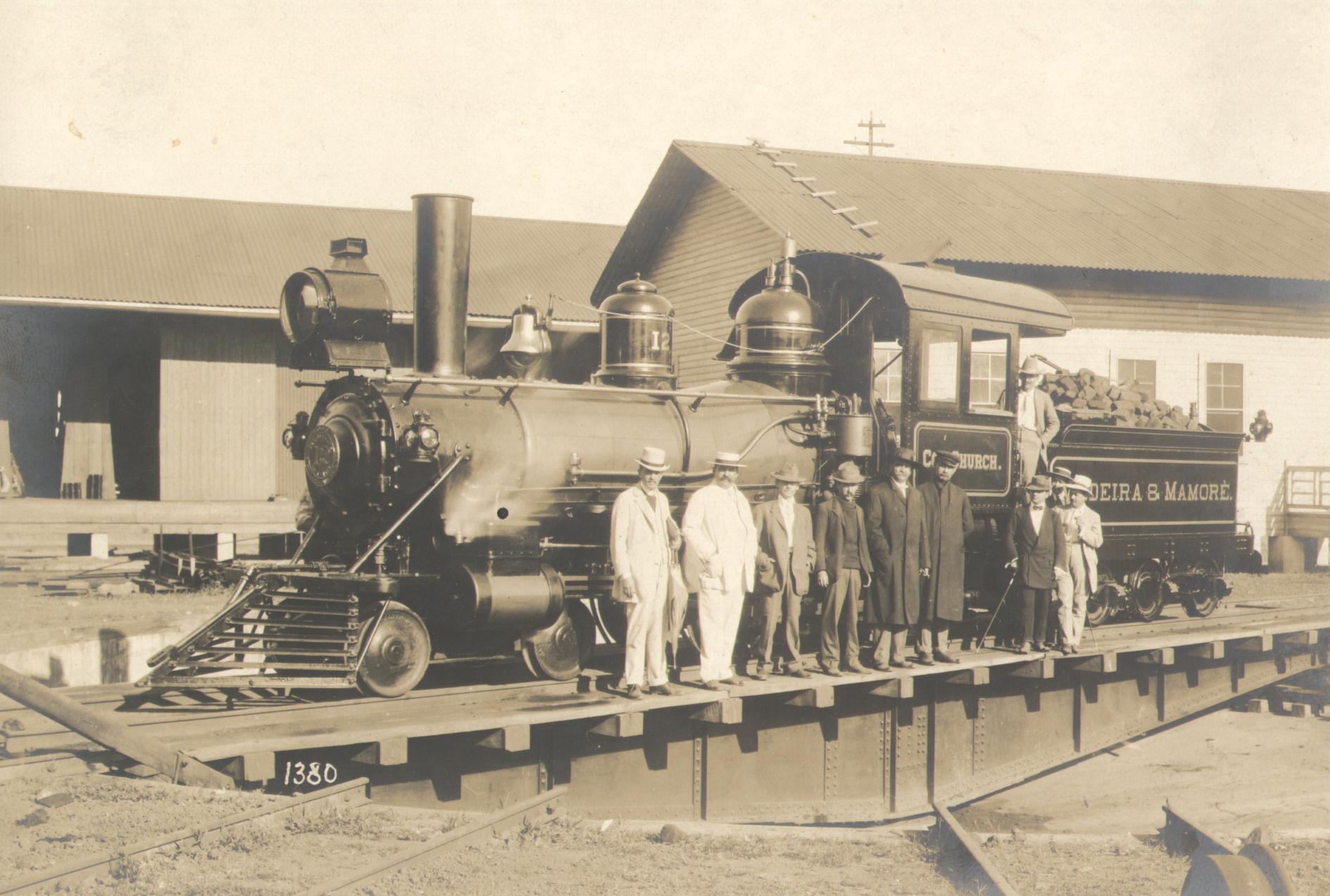 Steam locomotive Madeira-Mamoré Railroad