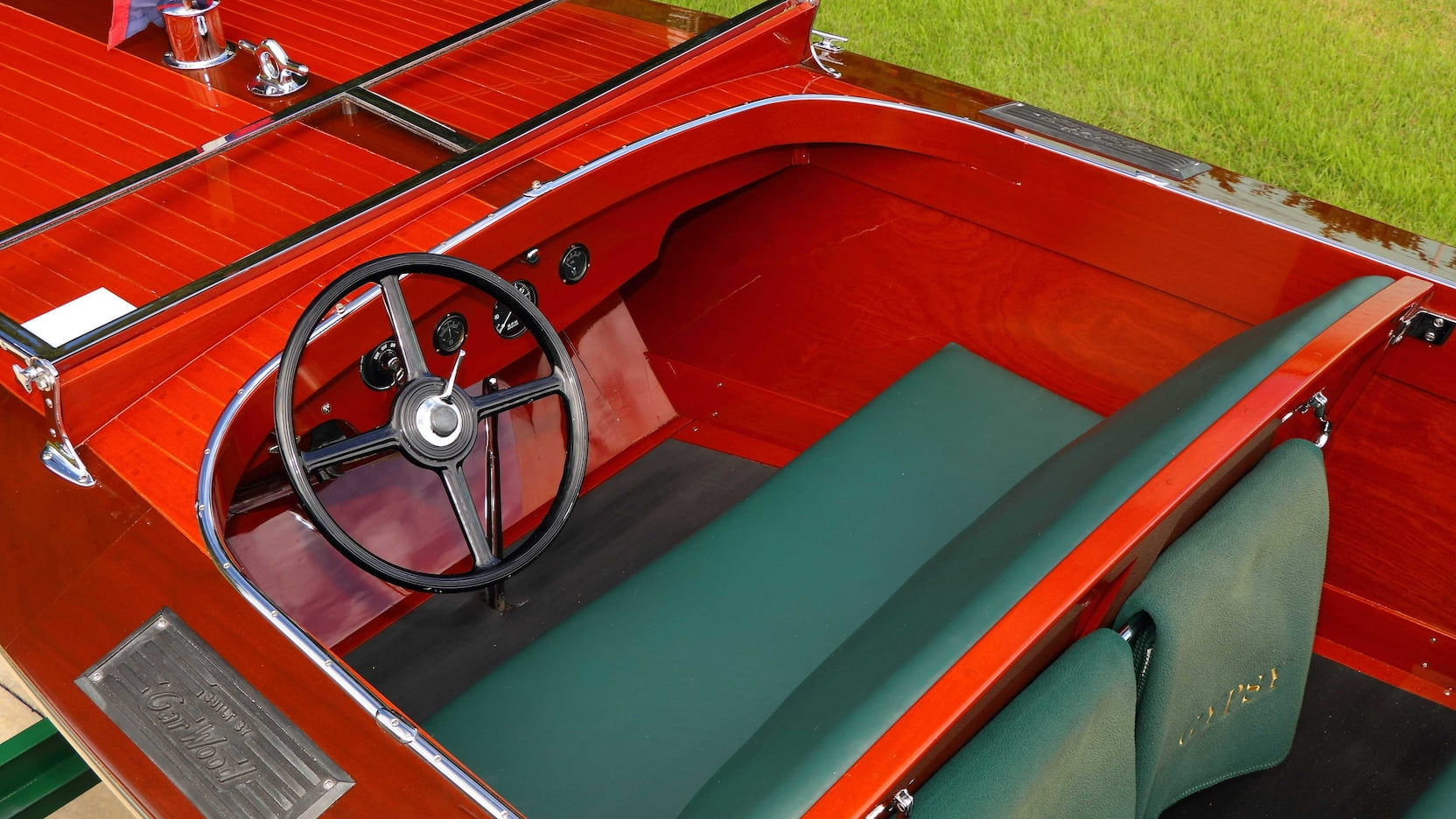 Gar Wood 22' Triple Cockpit runabout