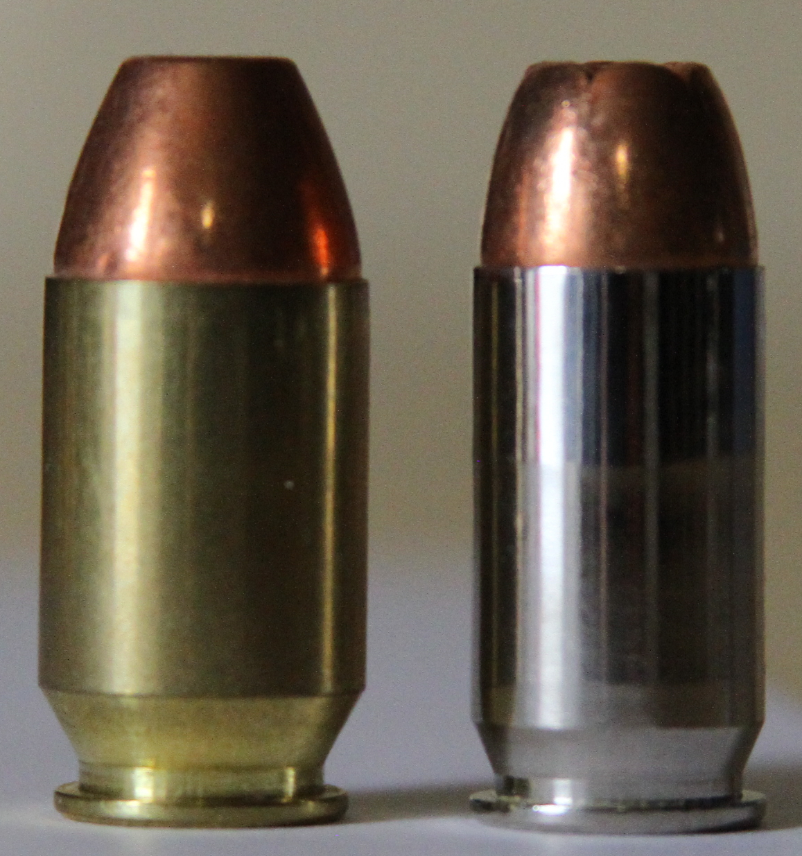 .50GI .45ACP pistol cartridge