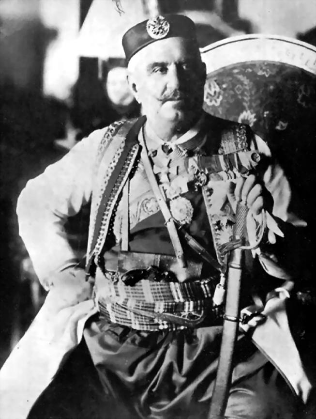 King Nicholas of Montenegro.