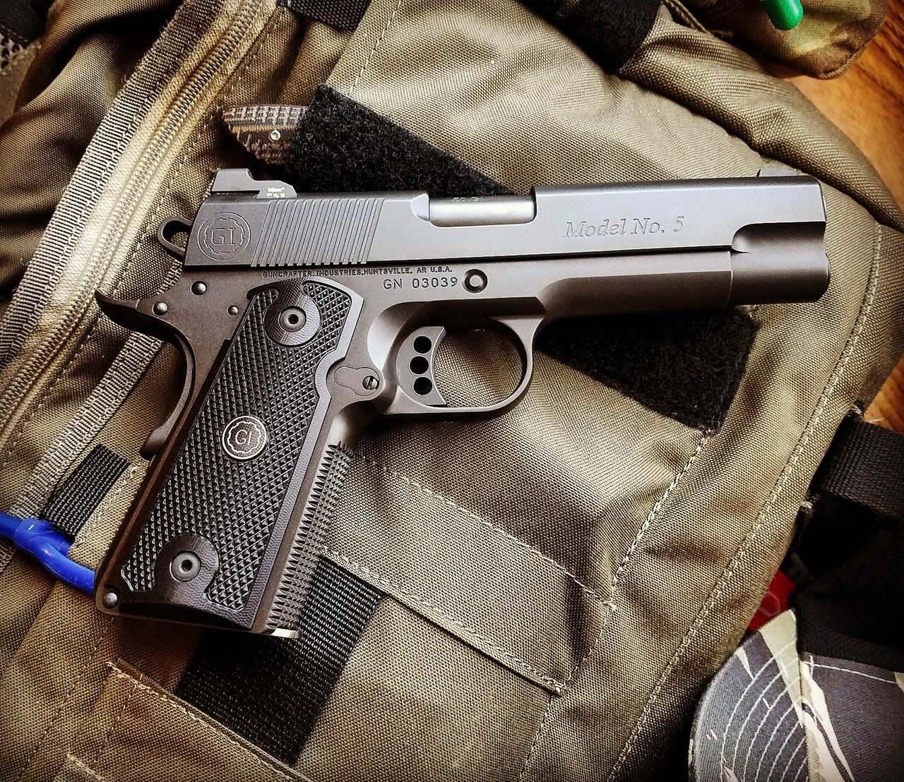 Guncrafter Industries Model 4 M1911 Commander pistol