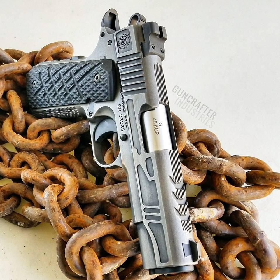 Guncrafter Industries NO NAME Commander custom pistol