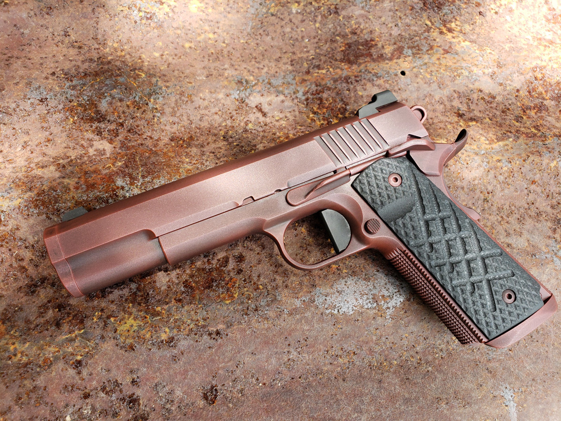 Guncrafter Industries custom pistol