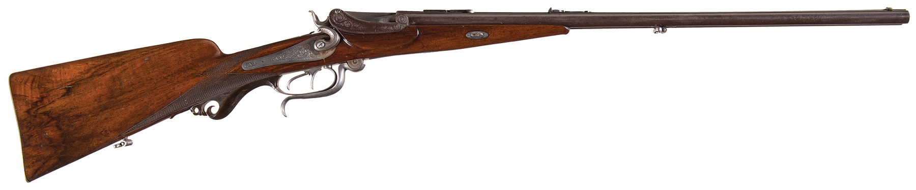 Miller & Greiss falling block double rifle
