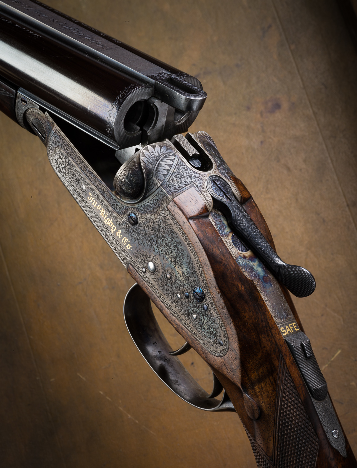 Rigby Rising Bite double rifle