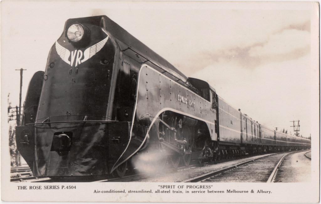 Spirit of Progress train