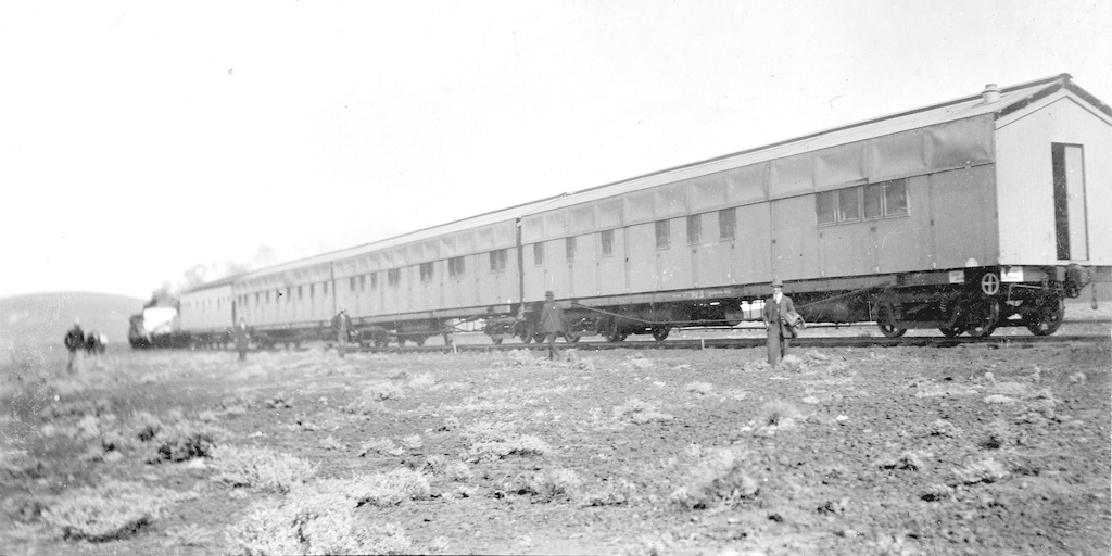 Transcontinental Railway fettler's worker's quarters