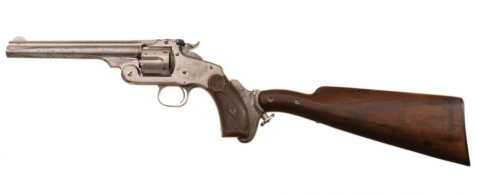 Australian Smith & Wesson No.3 Revolver