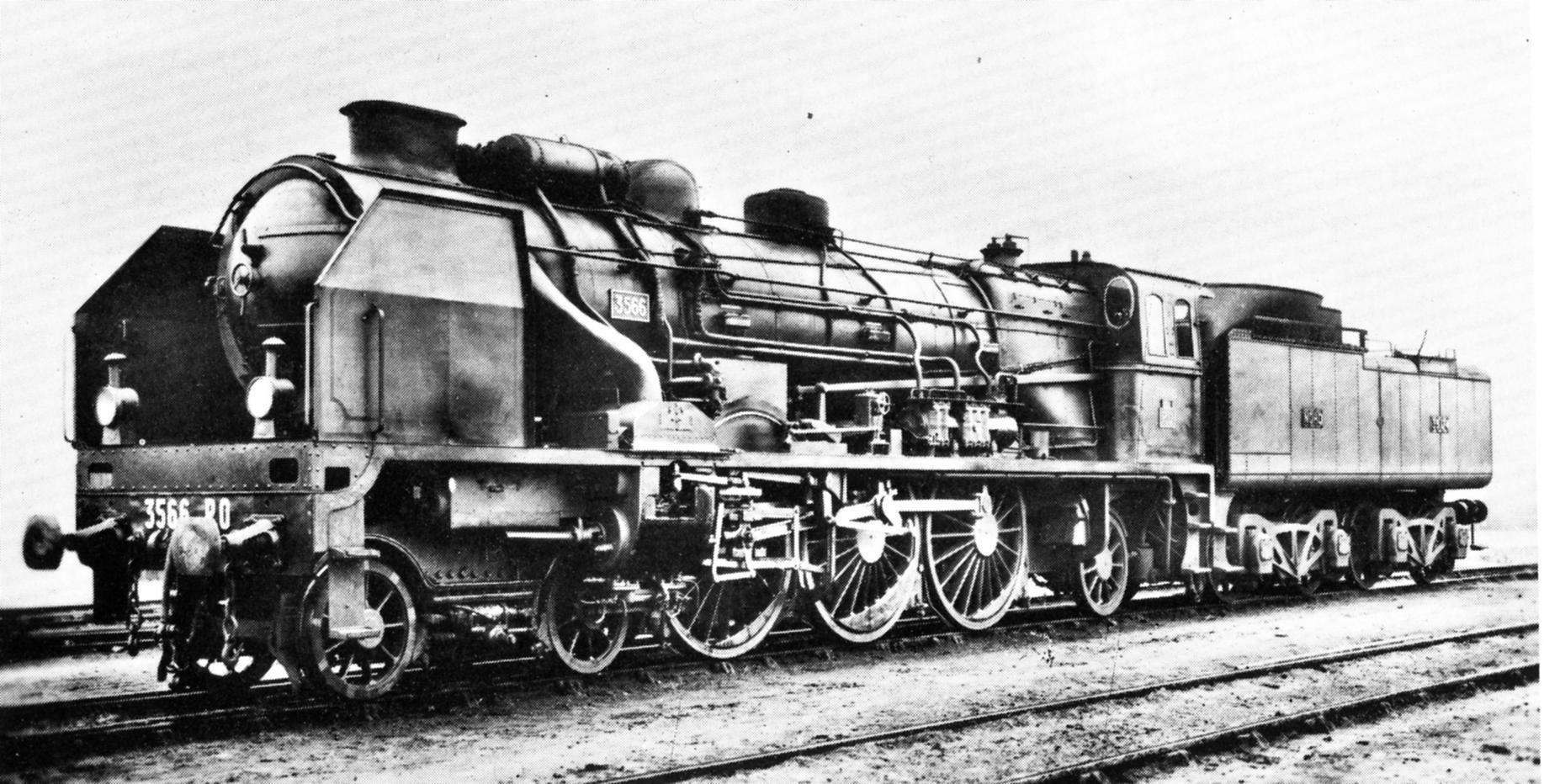 Chapelon's first rebuild PO Number 3566