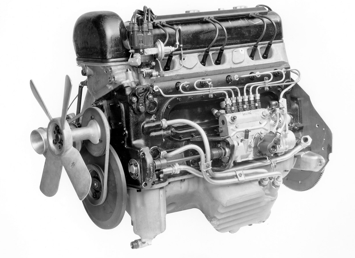 Mercedes-Benz 300SL engine