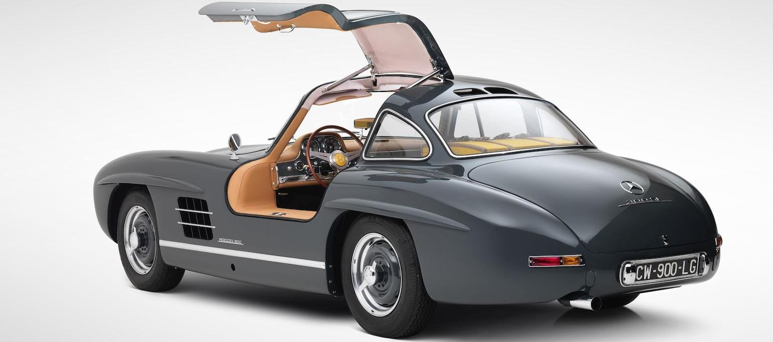 Mercedes-Benz 300SL gull-wing doors