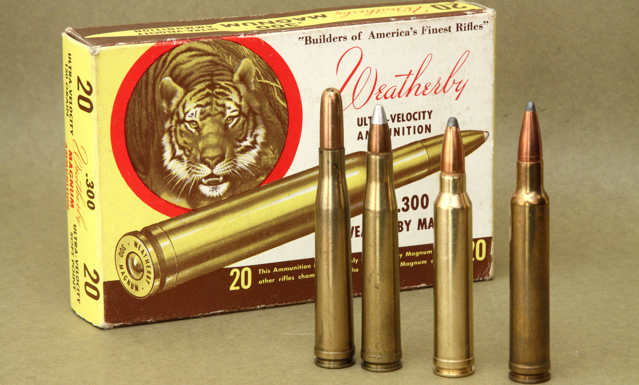 300H&H 300 Winchester Magnum 300 Weatherby Magnum rifle cartridges