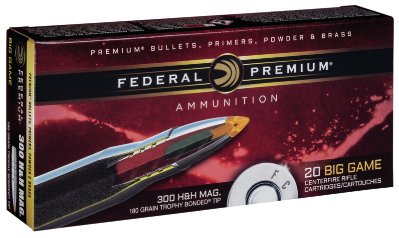 Federal .300 H&H Magnum ammunition