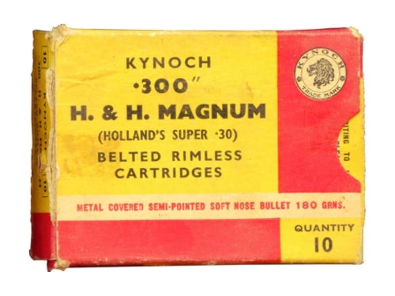 300 H&H Magnum Holland's Super 30 ammunition Kynoch