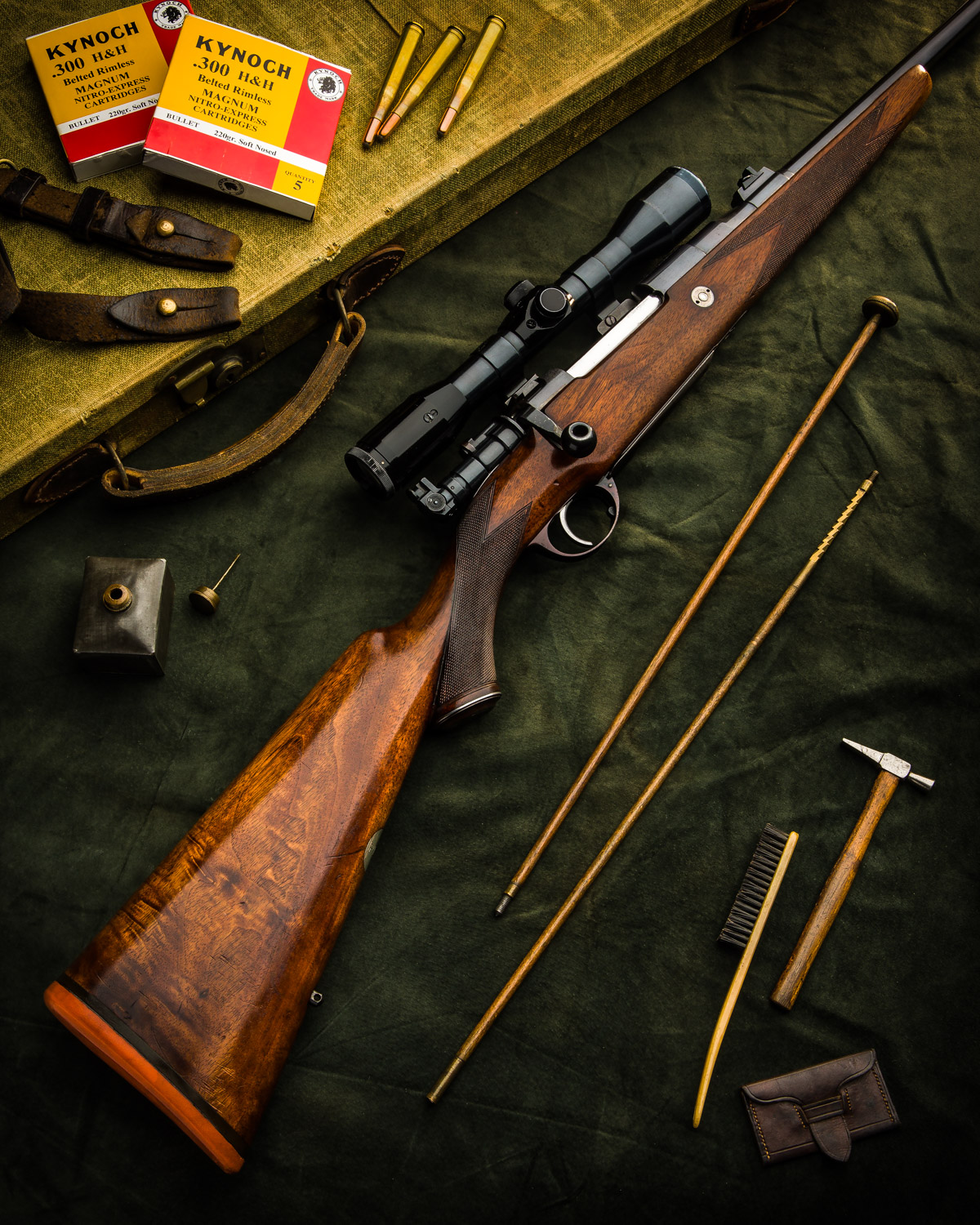Holland&Holland sporting magazine rifle 300H&H Magnum