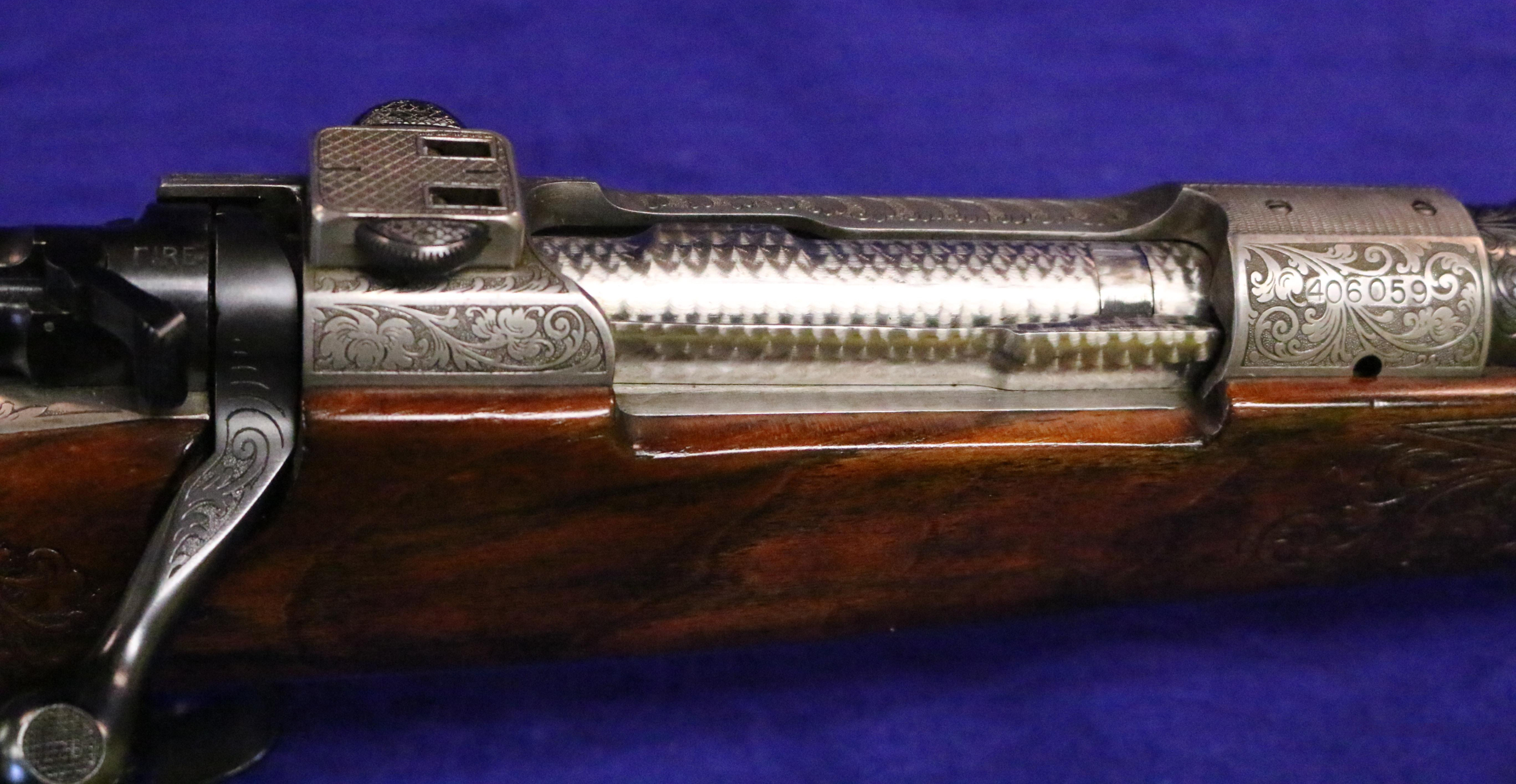 Winchester Model 70 300H&H Magnum rifle action