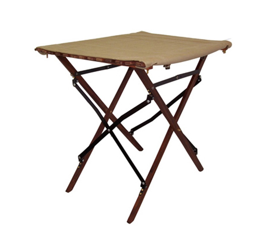 African Sporting Creations roll-up camp side-table
