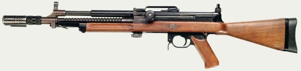 Madsen LAR military rifle
