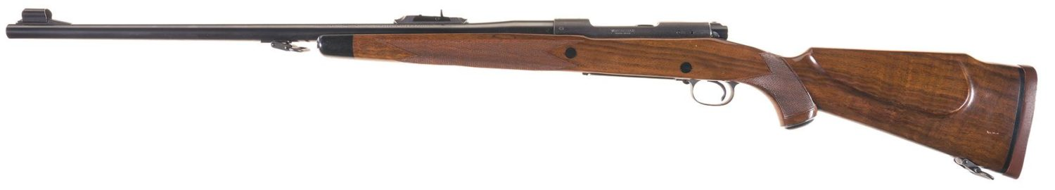 Winchester Model 70 Super Grade African rifle 458WM