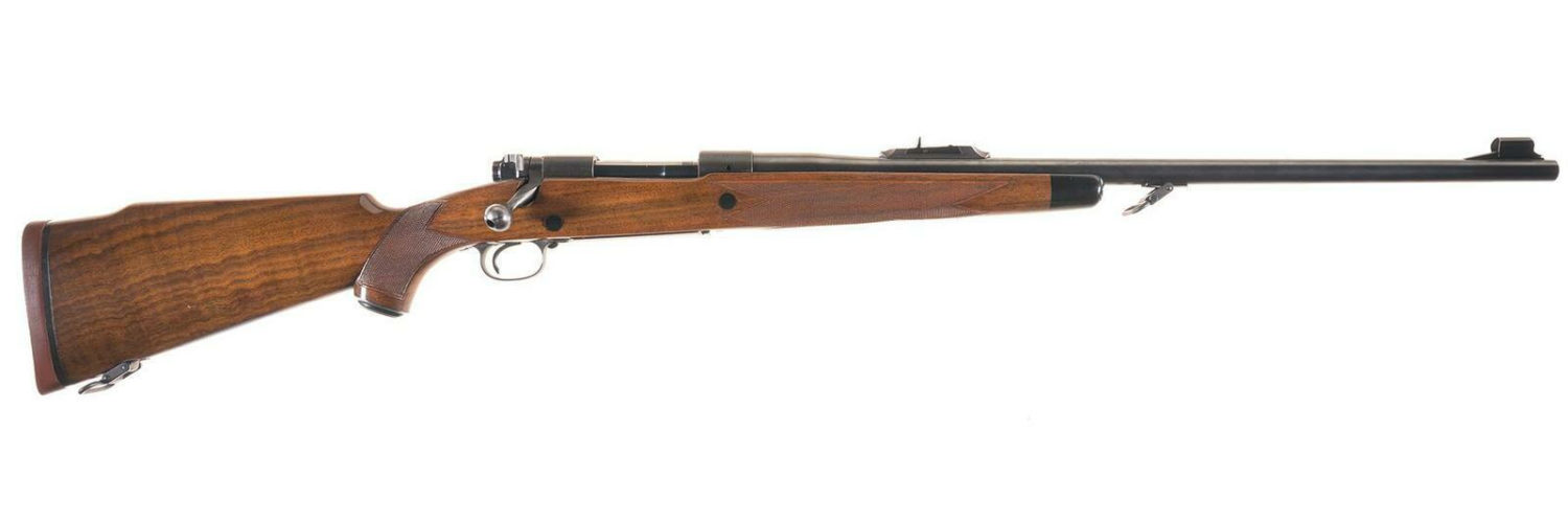 Winchester Model 70 Super Grade African rifle 1956