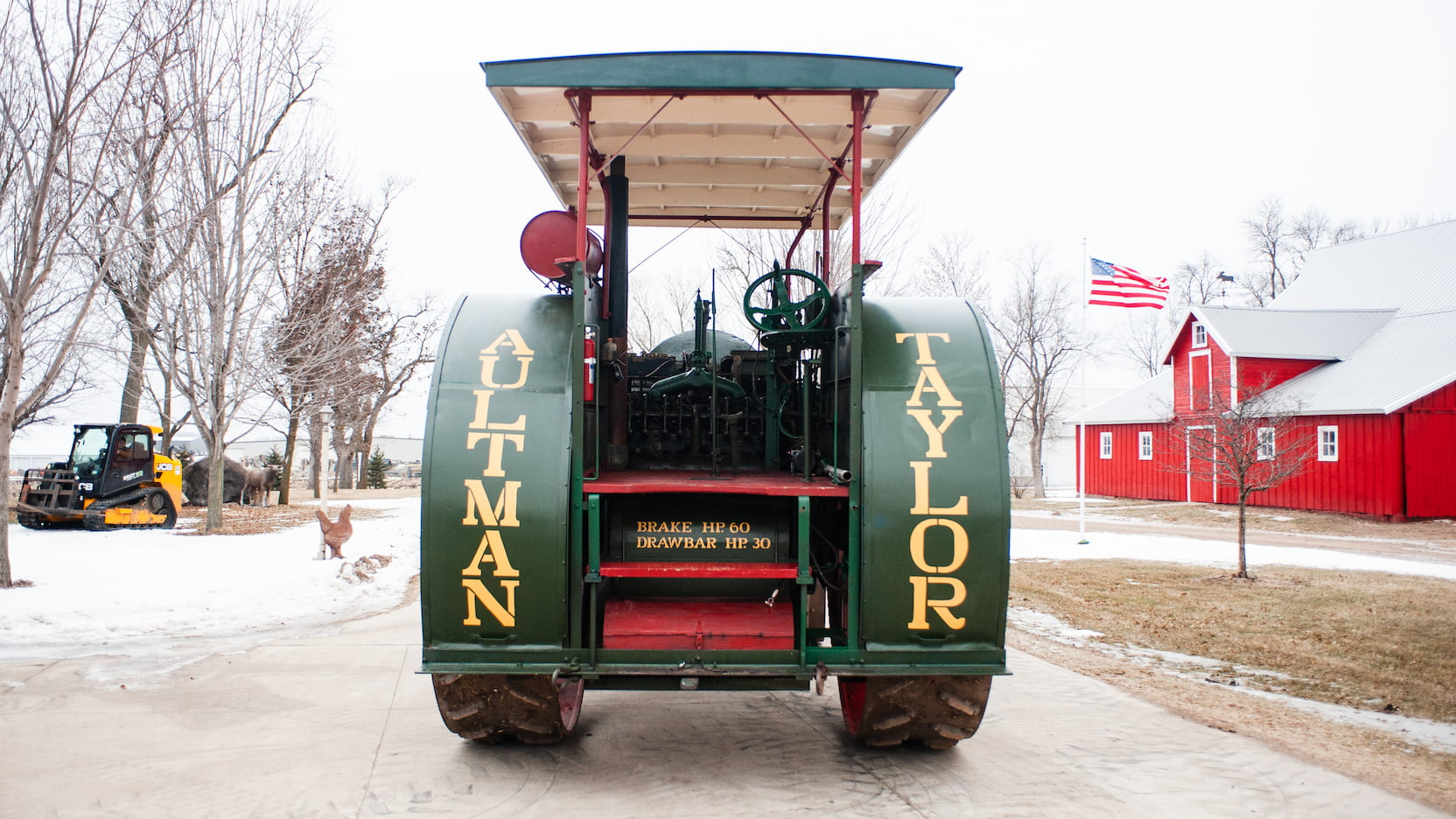 Aultman and Taylor 30-60 tractor