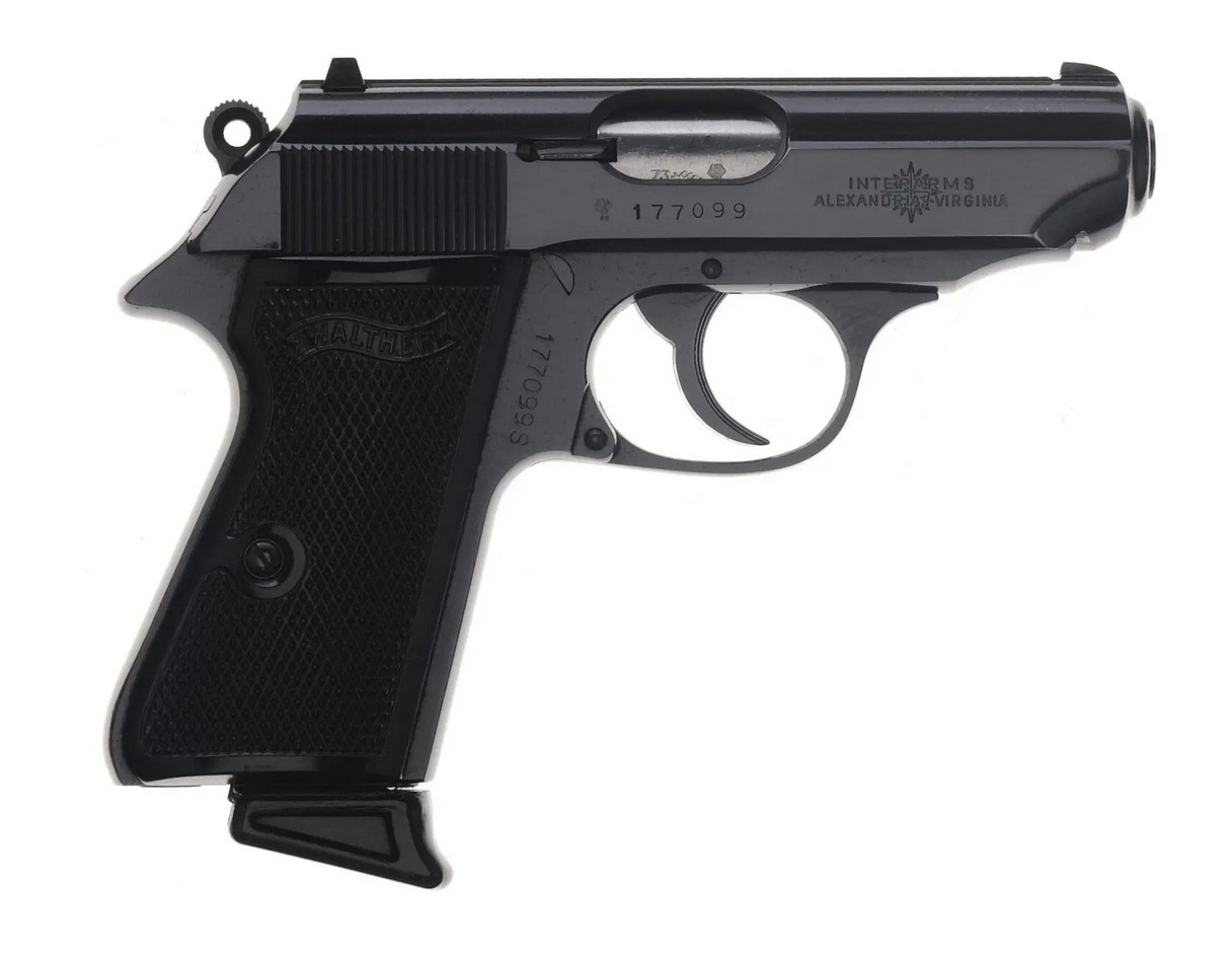 Walther PPK police pistol