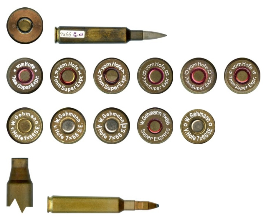7x66SE cartridge headstamps