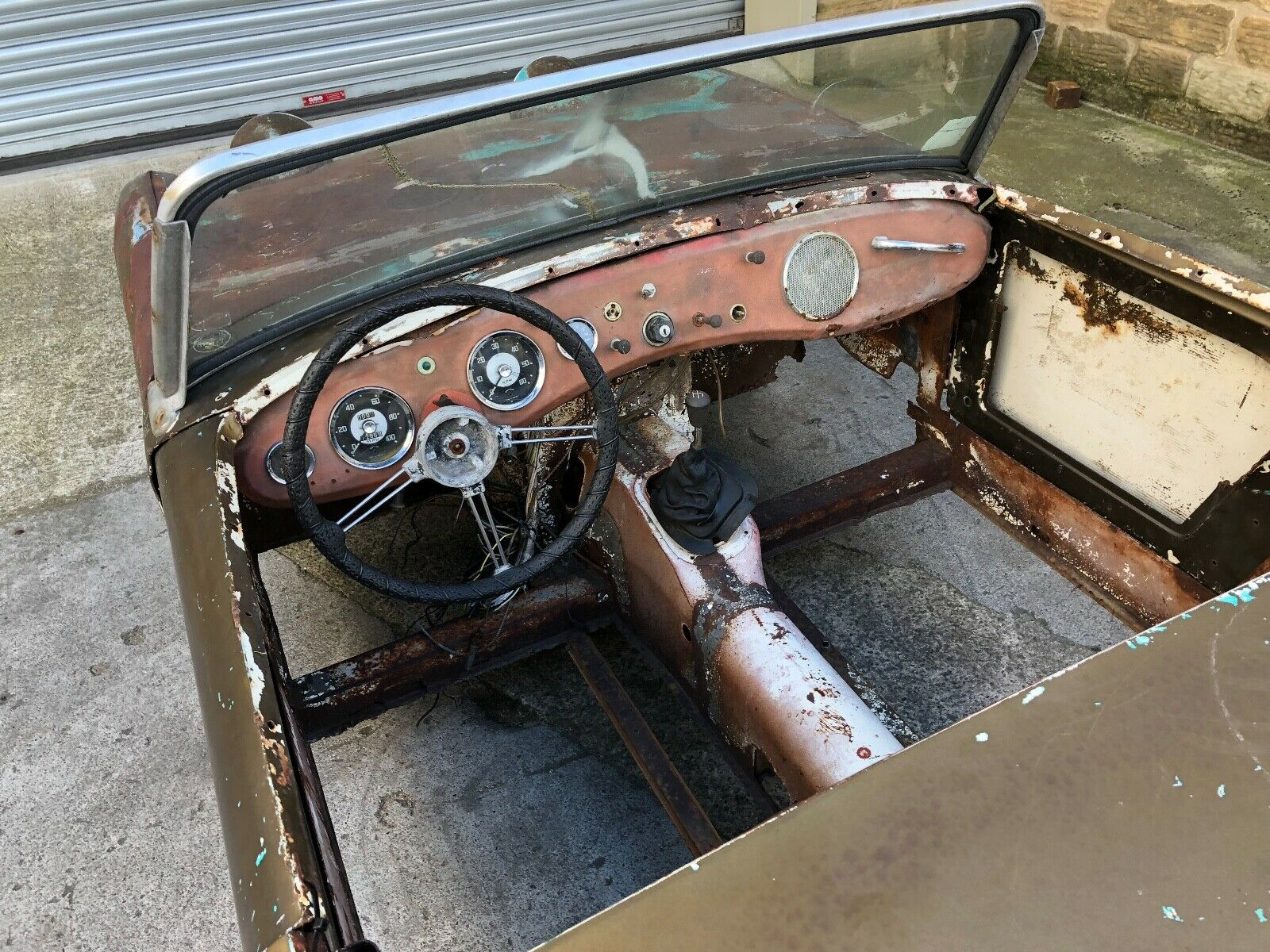 Austin-Healey Sprite Mk1 barn find