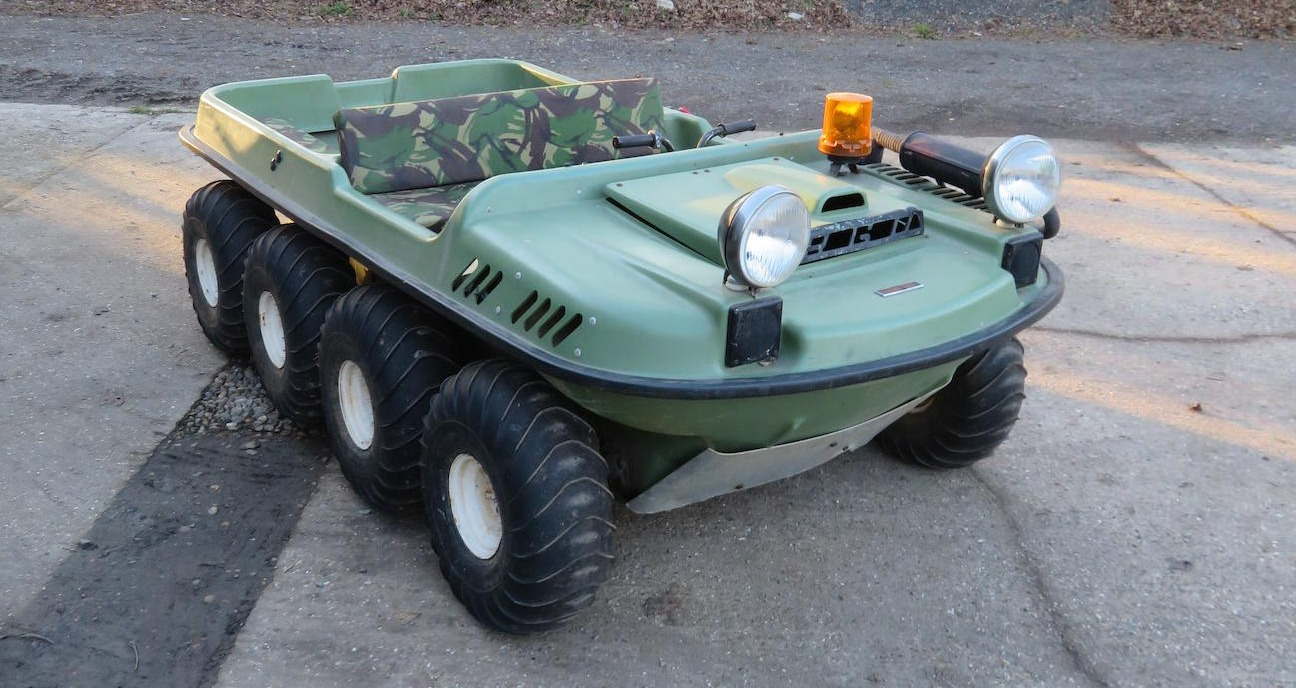 Crayford Argocat All Terrain Vehicle