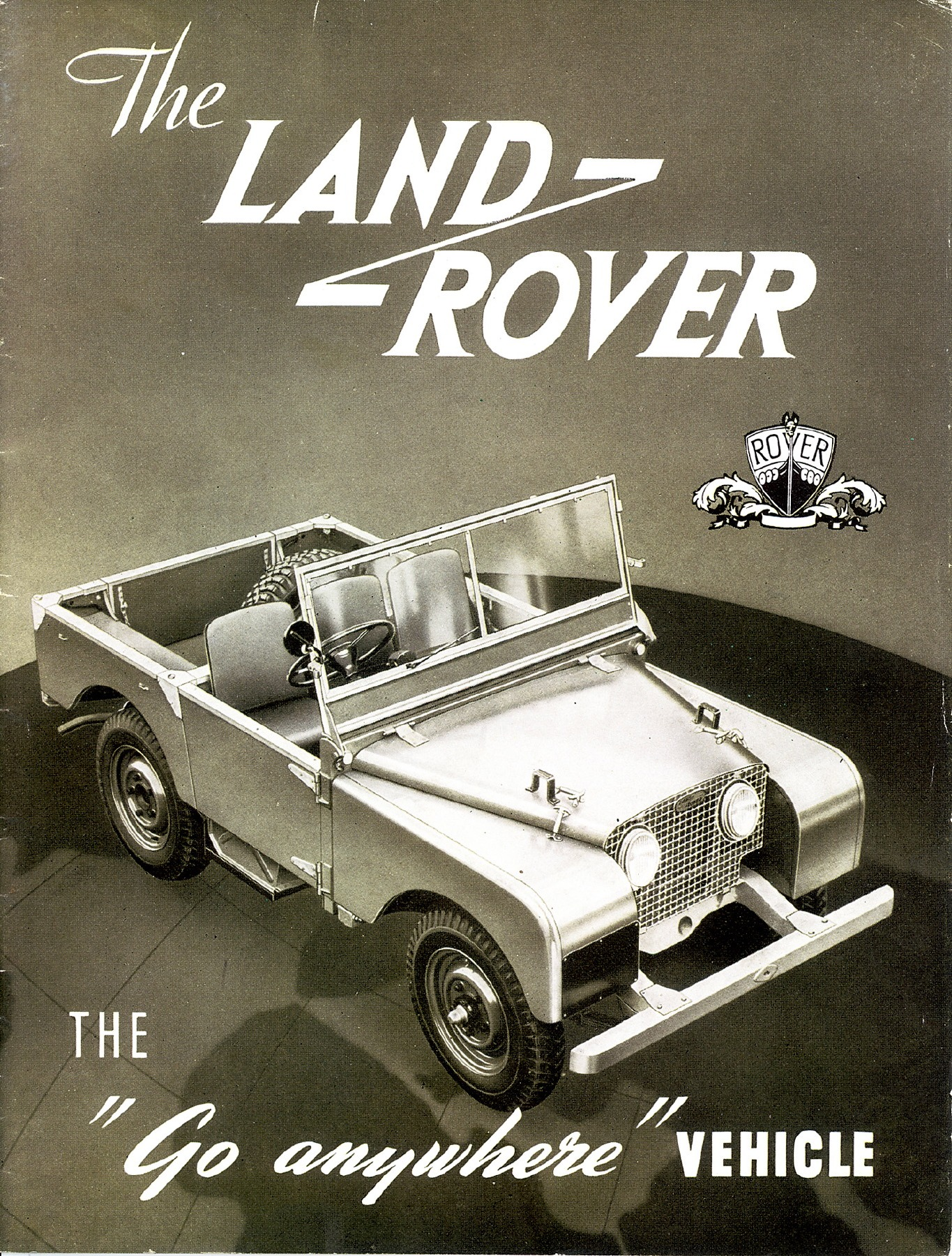 Land Rover advertisement
