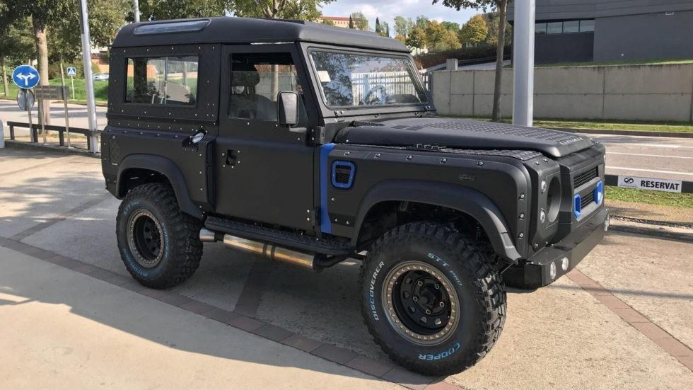 Land Rover Santana Kahn body kit
