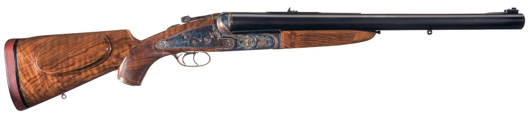 Ken Owen REWA double rifle