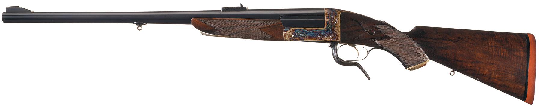 Jeffrey single shot elephant rifle