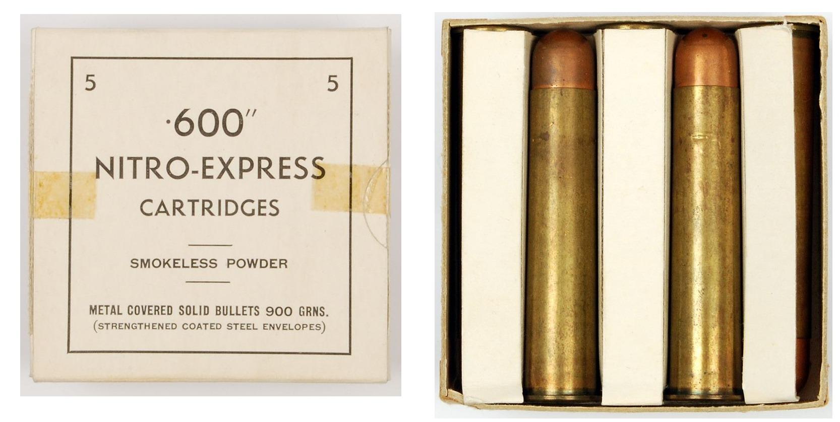 Nitro Express cartridges