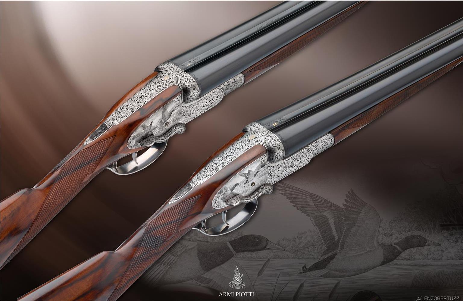 Piotti Sidelever shotgun