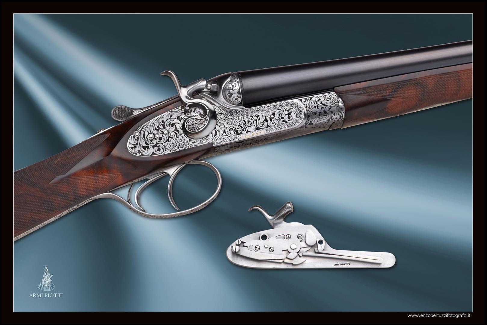 Piotti external hammer shotgun