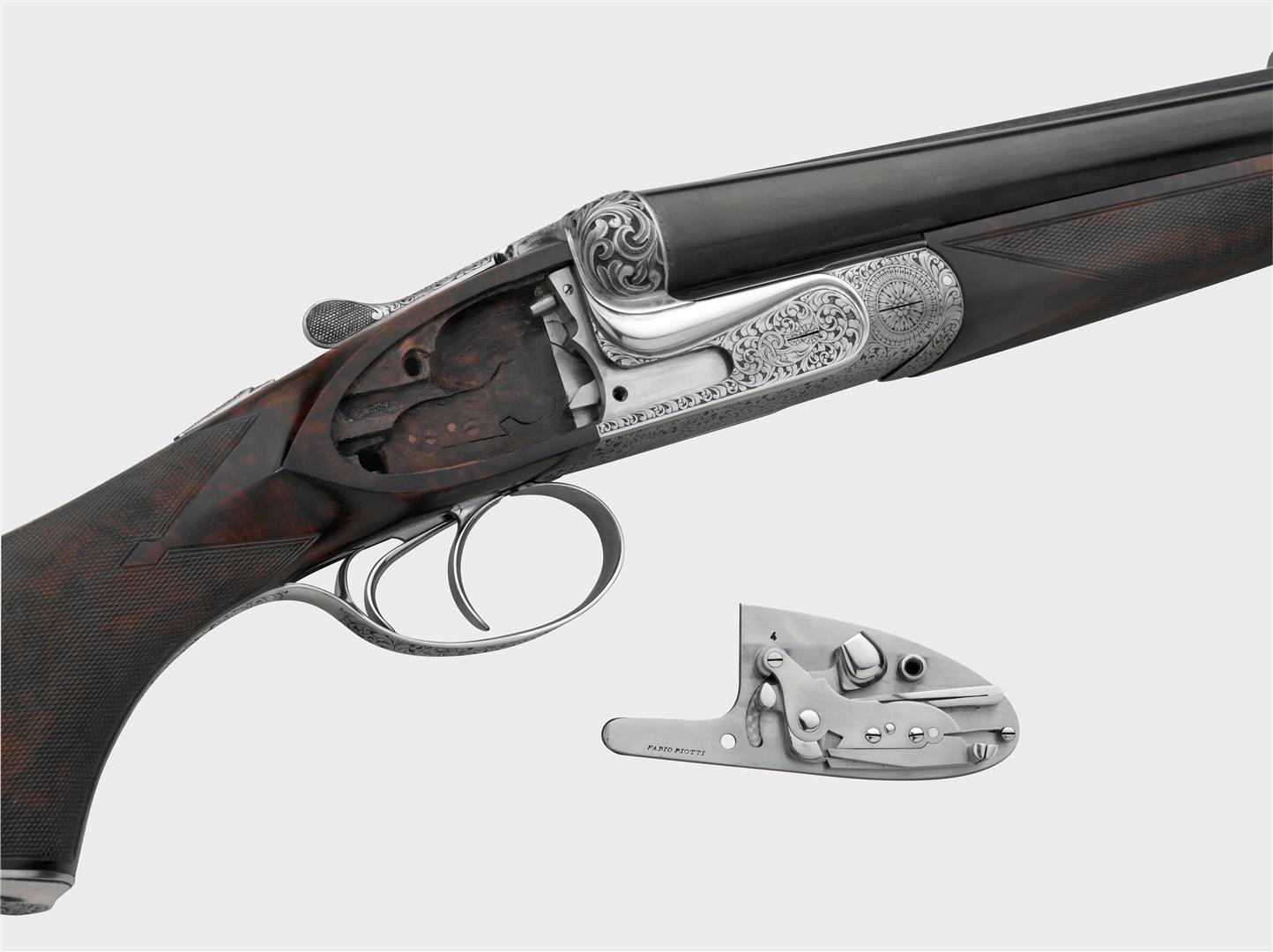 Piotti sidelock gun
