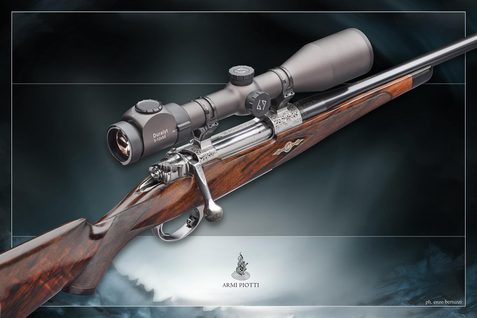 PIotti bolt action rifle