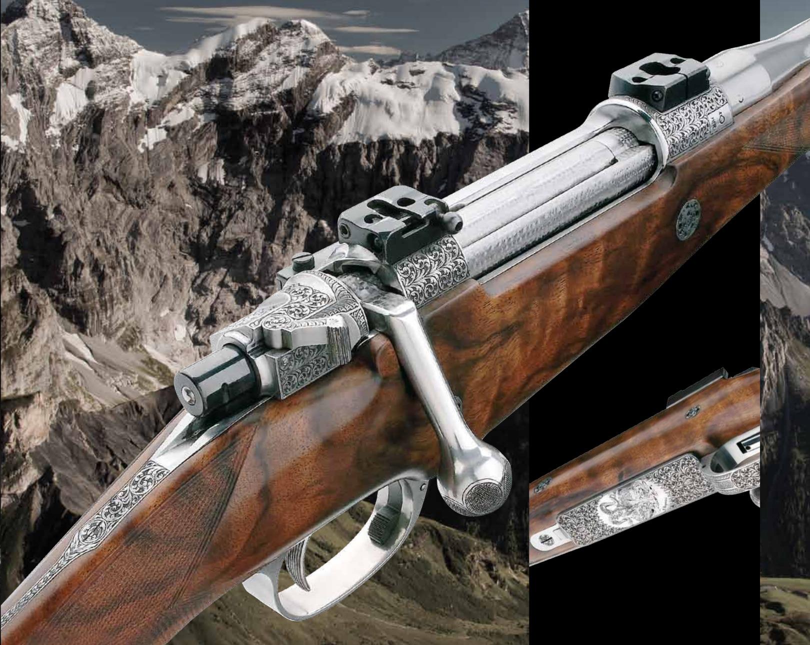 Grulla Armas C-95 bolt action magazine rifle