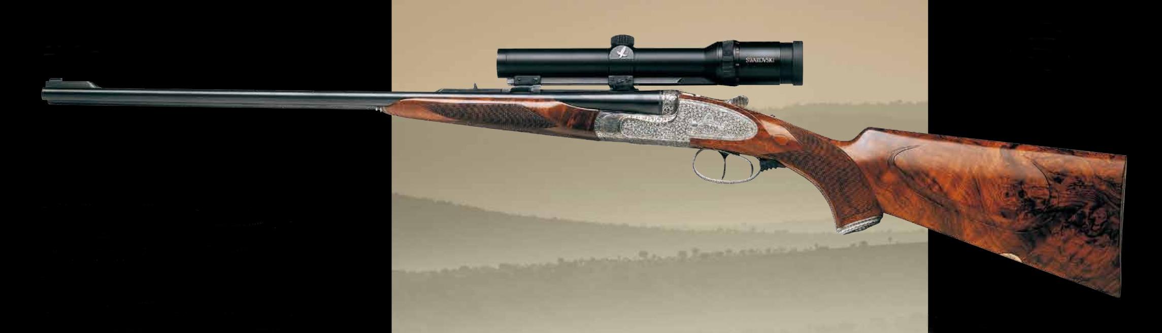 Grulla Armas E95 double rifle